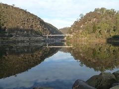 morning moment (jeaniephelan) Tags: bridge tasmania gorge launceston firstbasin