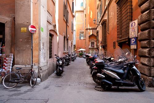 Alley Parking