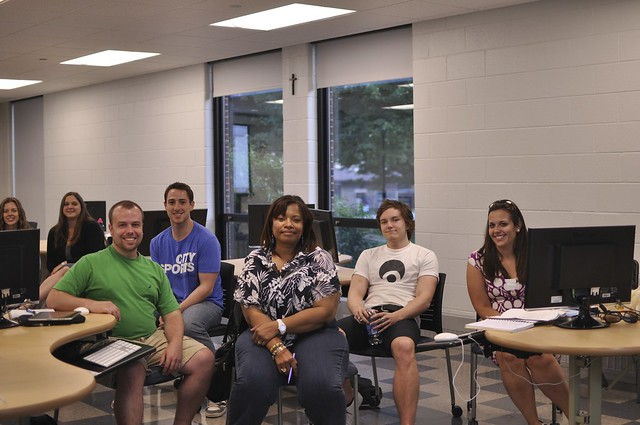 new media class at St. Joe's