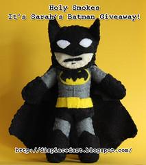 Batman giveaway