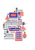 La Bandera Americana (Tamás ÁL) Tags: road snowflake people usa brick bird america fence freedom wire pyramid flag cctv american barrier 1800 arrow barbed watchtower oversee annuit coeptis
