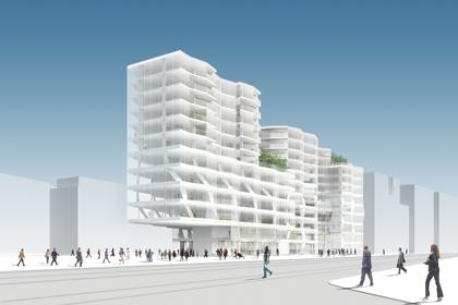 Baufeld E - Stadtraum HB, Zürich © HOSOYA SCHAEFER Architects