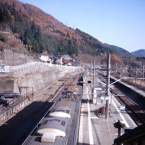 【写真】奈良井駅