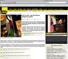 2008-03-09 France INFO par Sophie Ribstein