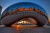 Cloud Gate (iceman9294) Tags: city morning travel blue red sculpture orange chicago reflection architecture sunrise illinois fantastic nikon bravo stainlesssteel cityscape sigma millenium wideangle bean professional explore millenniumpark cloudgate frontpage thebean anishkapoor hdr legume lightroom chriscoleman d300 chicagobean firstquality photomatix sigma1020 topf900 nikonstunninggallery infinestyle diamondclassphotographer bratanesque frhwofavs iceman9294 nikond300 theroadtoheaven world100f exploreheaven noticings