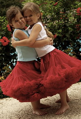 Sisterly Love (Erin G. Photography) Tags: sisters canon barefoot 5d pigtails pettiskirt