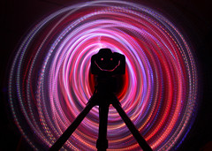 My New Camera! (Kirpernicus) Tags: longexposure light lightpainting color colour colors smile canon fun lights colorful tripod newcamera canon50mmf14 450d wowiekazowie rebelxsi canonrebelxsi450d