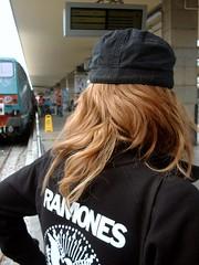 hey oh let's go! (* vespertine) Tags: torino ramones stazione treno capelli portanuova
