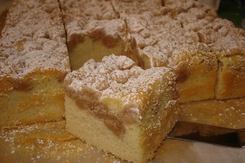 New York-Style Crumb Cake...sorta