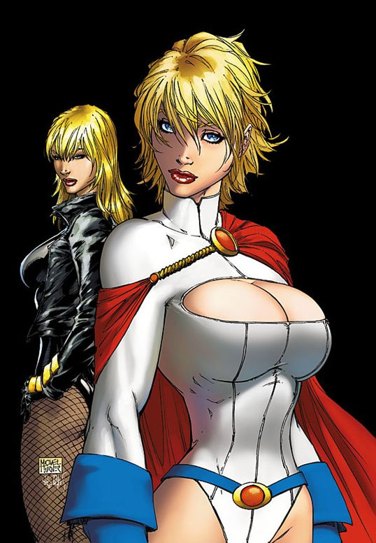 Michael Turner no entiende a PowerGirl