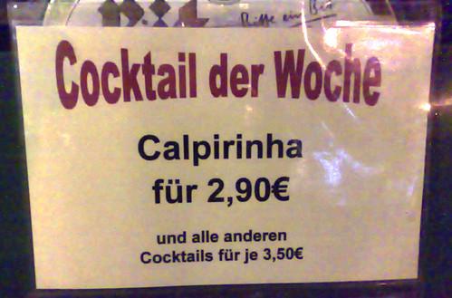 Rechtschreibung Caipirinha