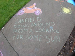 Garfield-mobile