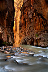 Canyon of Wonders (Zack Schnepf) Tags: beautiful beauty creek river landscape flow utah pattern glow deep canyon virgin zion walls zack magnificent narrows virginriver schnepf