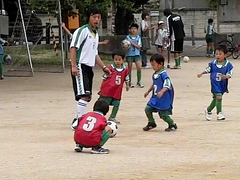 300fps Kids Soccer Video-CIMG6172 (pinboke_planet) Tags: kids football video soccer casio slowmotion kakogawa 300fps exf1