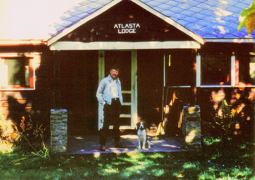 Daddy on the Front Porch of the Cabin, circa 1975