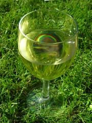 summer glass rainbow wine alcohol