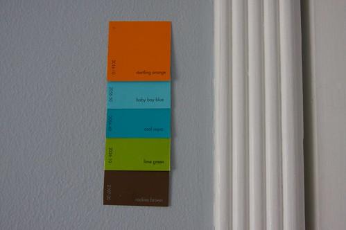 bebe's room color scheme