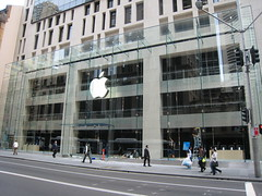 A photo of the new Apple store