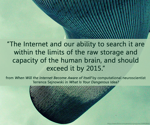 internet overtakes the brain in 2015
