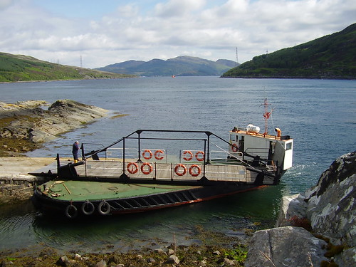 Kylerhea Ferry, Inverness-shire 16-06-2008 by agcthoms.