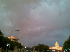 Faint Rainbow and Capitol