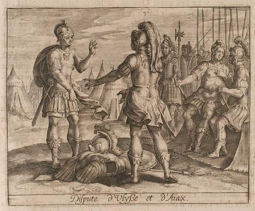 14-Enfrentamiento entre Ulises y Ajax