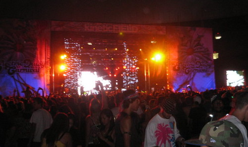 Kinetic Field night closeup