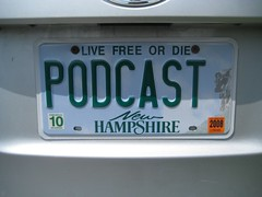 My social media license plate