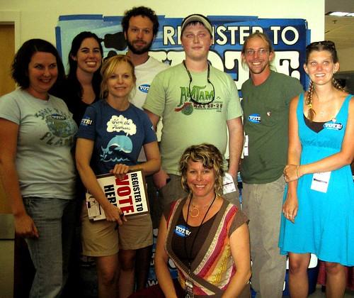 Pearl Jam volunteer crew!
