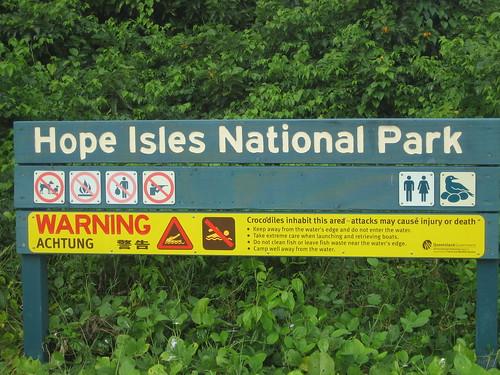 Hope Isles sign