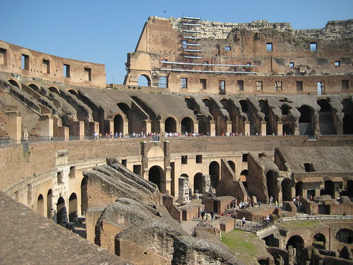 Colosseum was really the main vehicle for communication in Ancient Rome.