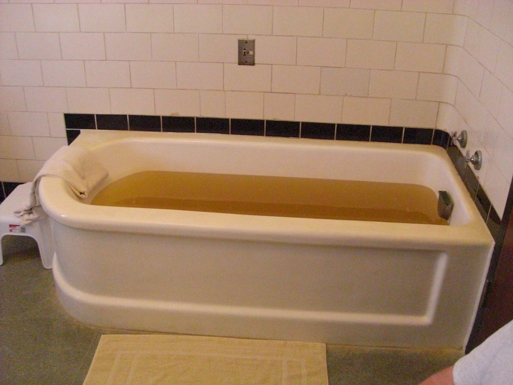 Lincoln Bath House tub