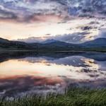 The Sunset at Yellowstone