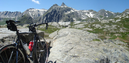 Panorama Grand Saint Bernard Pass
