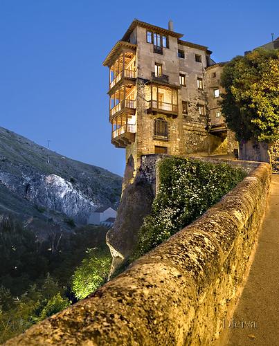 Casas colgadas / Hanging houses (Cuenca)