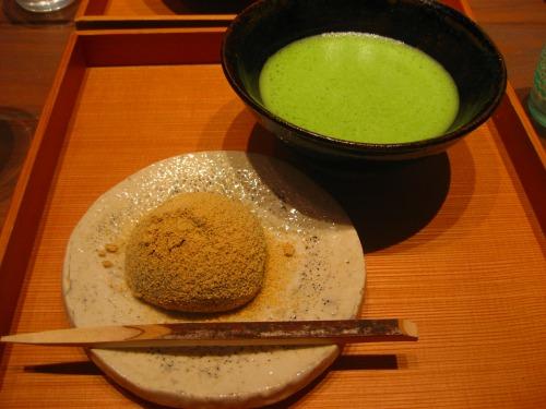 Tea break at Shin-Marunouchi Building in Tokyo