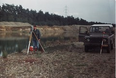"land surveying for Center Parcs ""De Maasvallei"" by Johan Paquay"