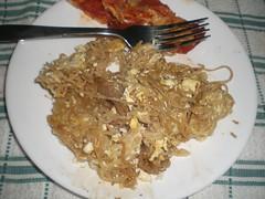 Ramen Noodles with some eggs ( Stranger) Tags: party food breakfast ramen noodles cheap hobo romain stelth xenization walkasastranger foodofcollegekids 50centbreakfast