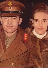 King & Queen 14.12.1967 (royalist_today) Tags: italy rome king queen constantine greece annemarie constantinos hellenes