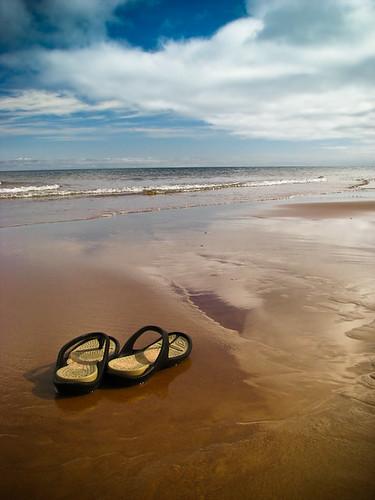 Beach Crocs!
