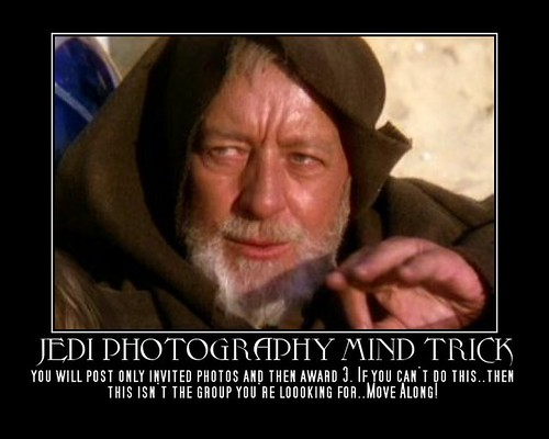 Jedi Photographer - Post 1 &