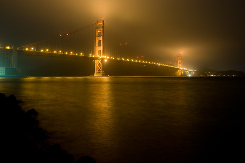 Golden Gate at Night