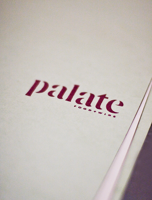 Palate Glendale Menu
