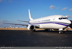 Swift Air Charter Boeing 737-4B7 (N801TJ) (Michael Davis Photography) Tags: airplane photography airport ramp nashville aviation flight jet boeing airliner charter b737 737400 boeing737 kbna swiftair n801tj airportramp nhlcharter swiftcharters