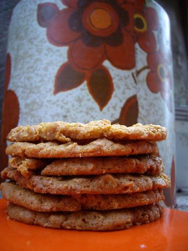 Peanut Butter Anzacs