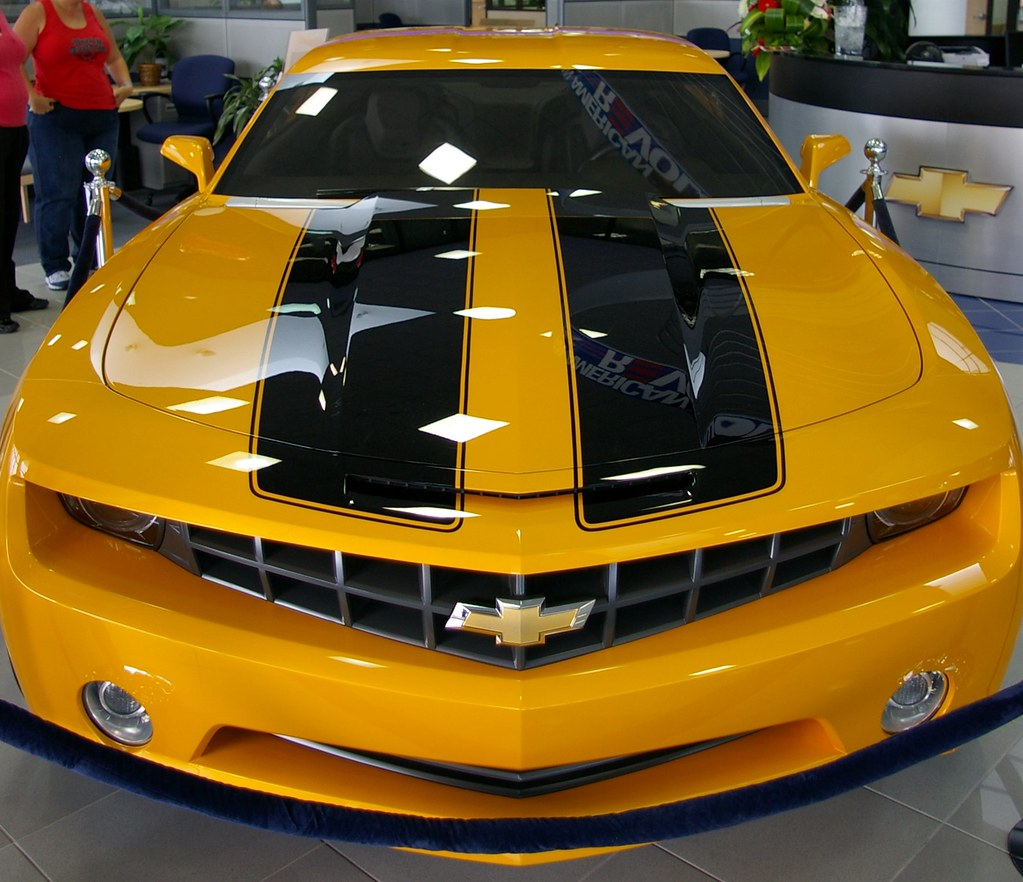 Camaro Hood Stripes Package