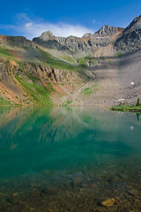 """Blue Lake • <a style=""""font-size:0.8em;"""" href=""""http://www.flickr.com/photos/55747300@N00/2773082412/"""" target=""""_blank"""">View on Flickr</a>"""