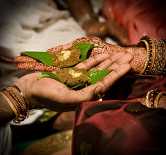 .Wedding. (.krish.Tipirneni.) Tags: wedding india friend indian south marriage pooja hyderabad andhra hpc harini andhrapradesh pelli southindian mehendhi sudheer kakinada muhurtham bellam gorintaku muhurath jeelakarrabellam jeelakarra pcahands