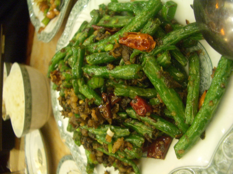 Sichuan Dining Room beans