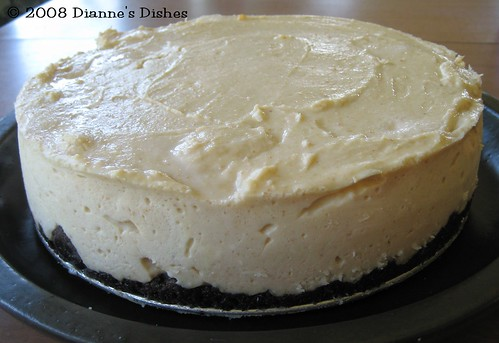 Peanut Butter Cheesecake: Baked and Ready to Serve